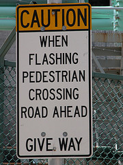 FLASHING PEDESTRIANS
